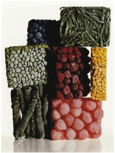 "Preview of ""Irving Penn - Frozen Food (with String Beans), New York, 1977 - Artwork details at artnet"""