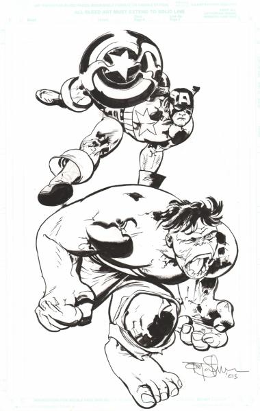 Ilustraciones sueltas chulas encontradas por el internete - Página 2 Salmons-cap-hulk