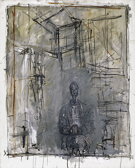 Drawing Lines James Rachels Summary : Painting alberto giacometti space in text
