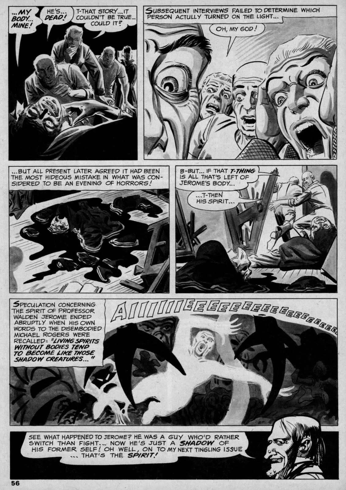 the spirit of the thing – steve ditko | SPACE IN TEXT